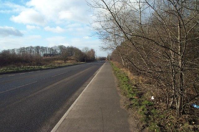 Ollerton Road near Edwinstowe