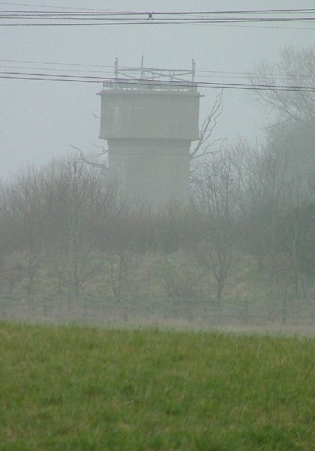 Water tower at Wymondley.