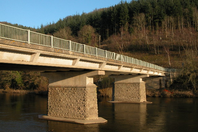 The Holme Lacy Bridge