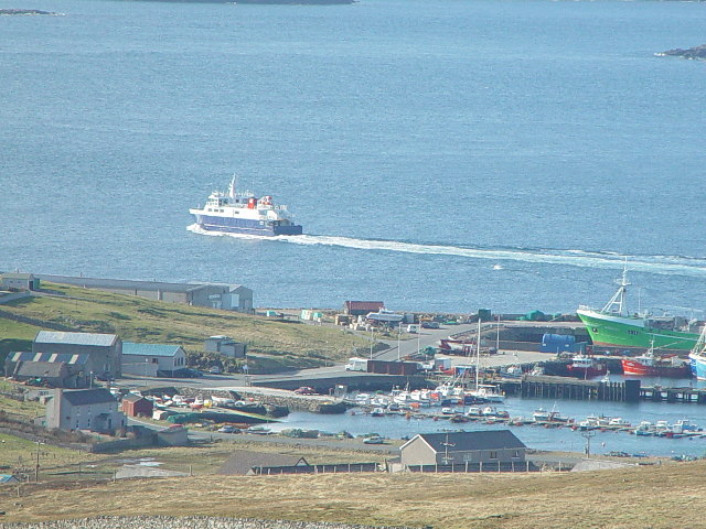 Symbister Harbour, Whalsay