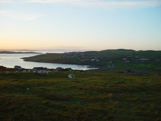 Saltness, North Park and West Hamister, Whalsay