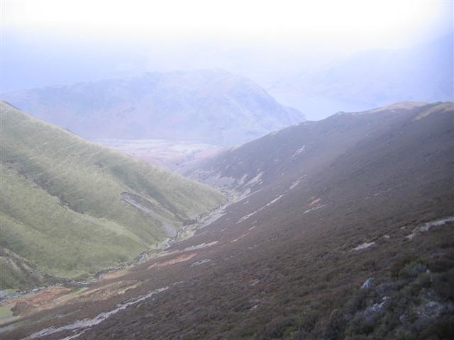 Rannerdale beck valley.