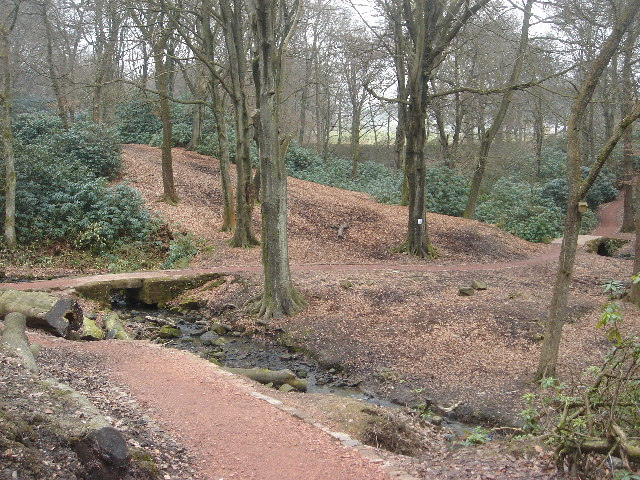 Raveden Brook nature trail near Smithills Hall