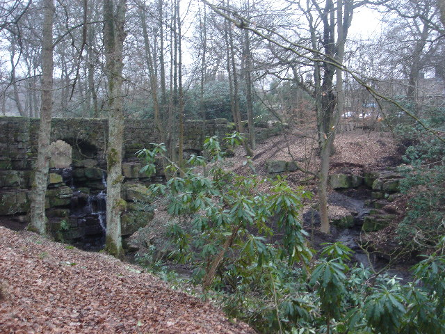 Bridge at Smithills Hall