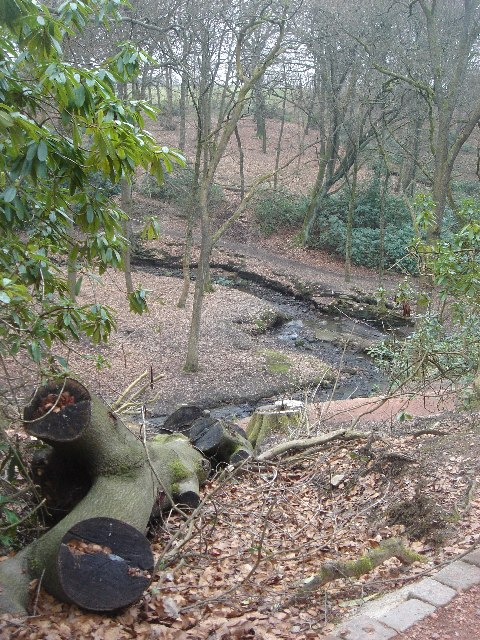 Raveden Brook nature trail, Smithills Hall