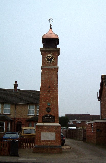 Westoning : The Clock Tower