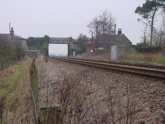 Curthwaite Railway Station
