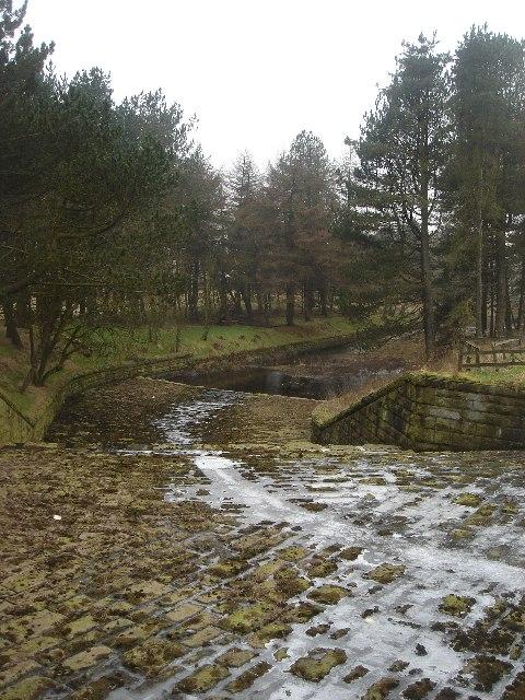 Belmont Reservoir overflow
