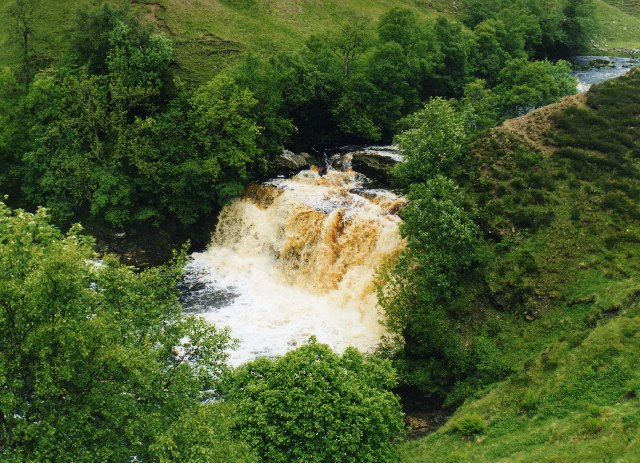 Crammel Linn on the River Irthing