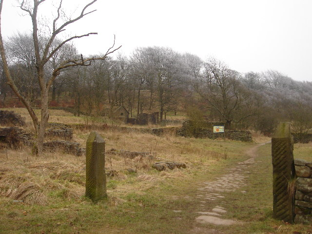 Ruins of Hollinshead Hall