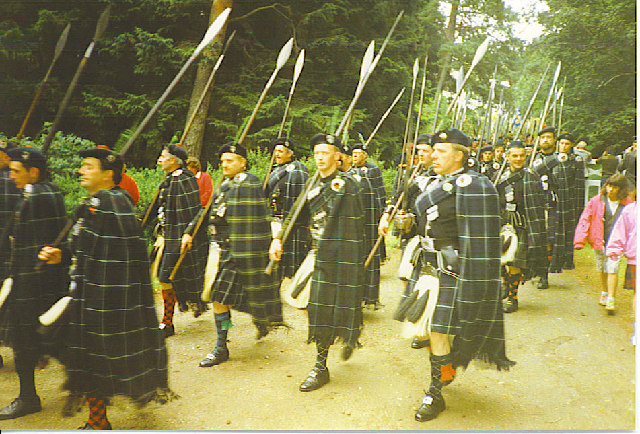 The March of the Lonach Highlanders
