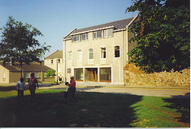Geography Department, Aberdeen University.