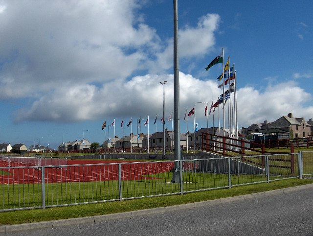 Running Track, Clickimin Leisure Centre, Lerwick