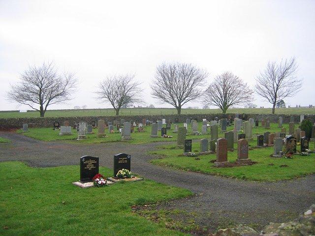 Gordon Cemetery.