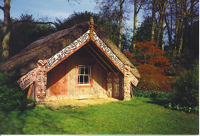 The Maori House, Clandon Park.