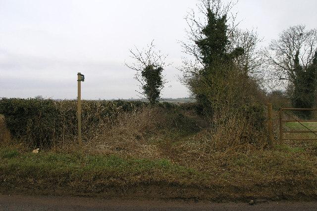 Bridleway at Horley