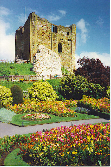 Guildford Castle and Gardens.