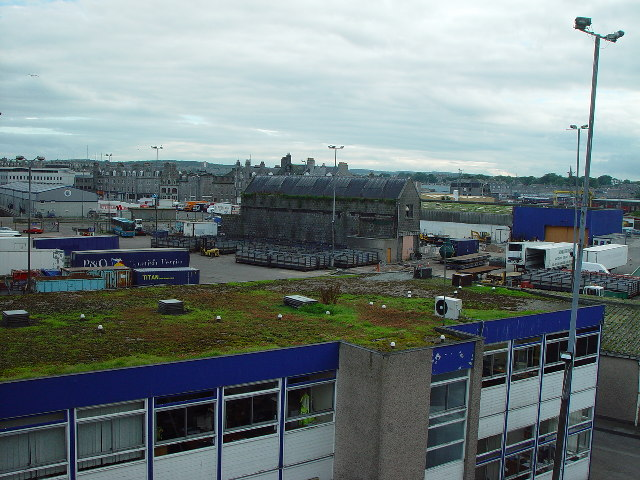 P & O Ferry terminal and Cargo Handling Area, Aberdeen Harbour