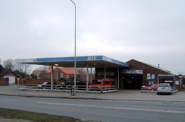Vicarage Motors, Wrawby