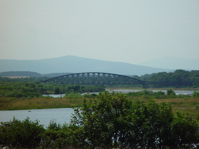 Railway Bridge at Spey Bay