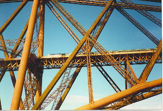 Forth Railway Bridge.