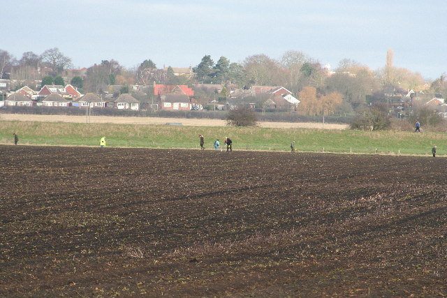 Fieldwalking at Washingborough