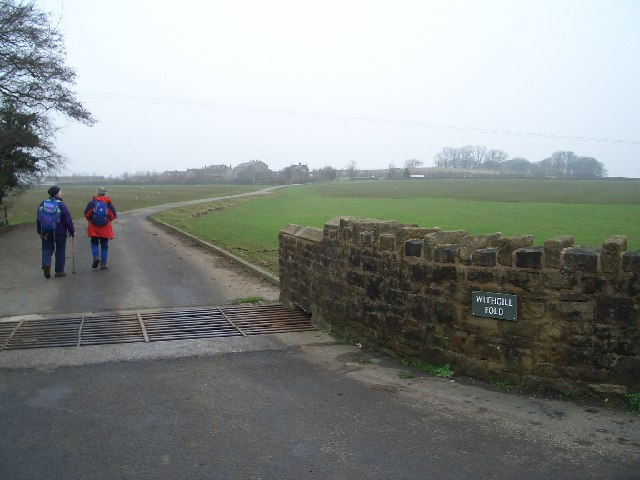 Withgill Farm and Fold
