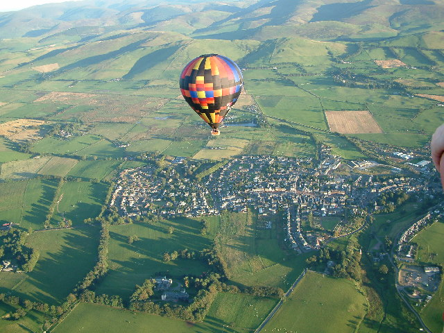 Flying High over Biggar