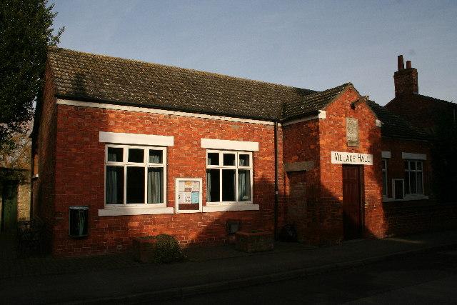 The old Victorian Village Hall, Washingborough