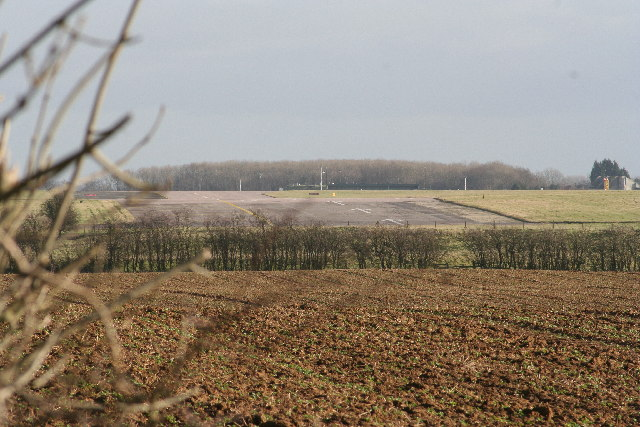 Old runway RAF Cottesmore