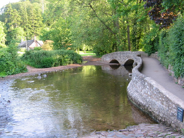 Gallox Bridge - Dunster, Somerset