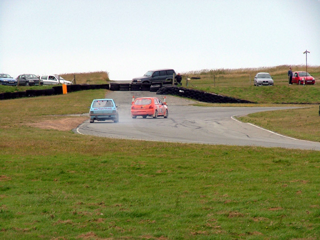 Abbotts bend on the Anglesey circuit