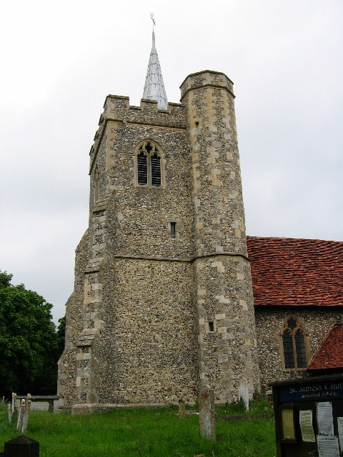 St. James's Church - Stanstead Abbotts, Herts