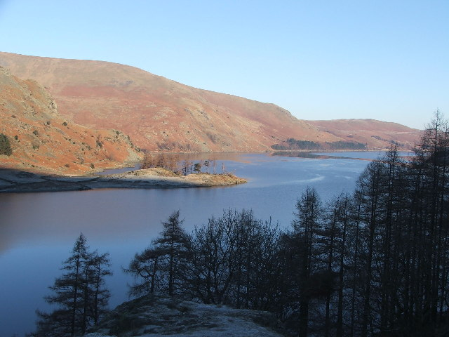 Speaking Crag and Haweswater.