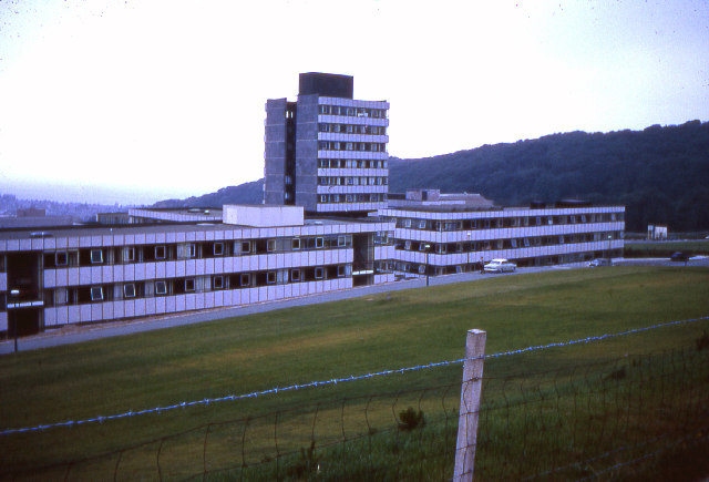 """New"" buildings, University College of Wales 1969"