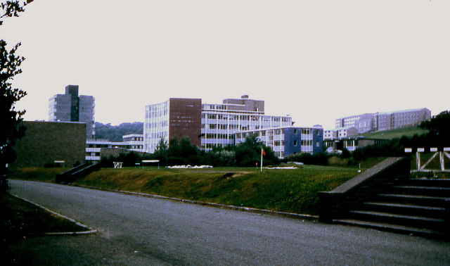 "University College of Wales  ""new"" campus 1969"