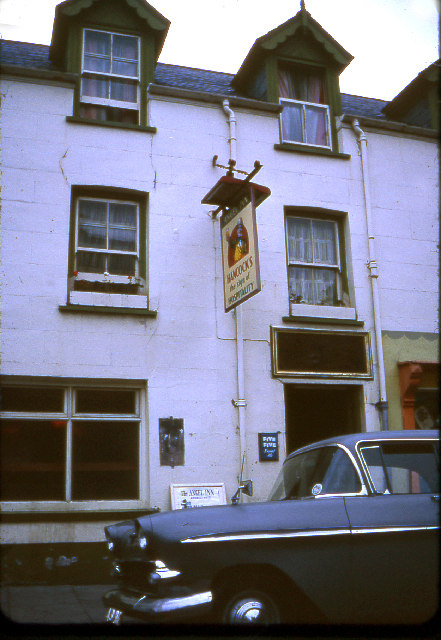 The Angel Inn, Aberystwyth, 1969