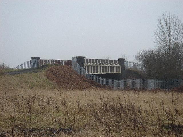 Railway bridge near Shakerley
