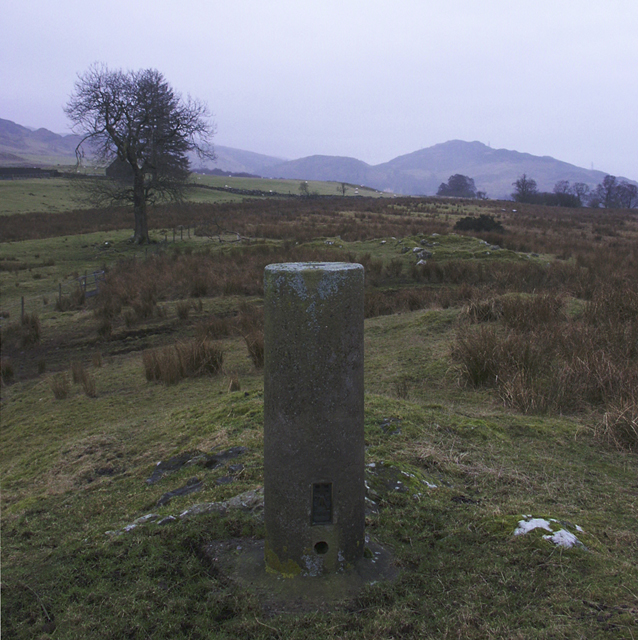 Triangulation pillar, Tomamhoid, Inverness-shire