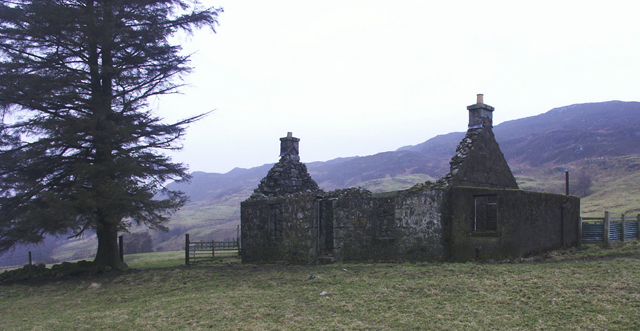 Ruined farmstead, Tomamhoid, Inverness-shire