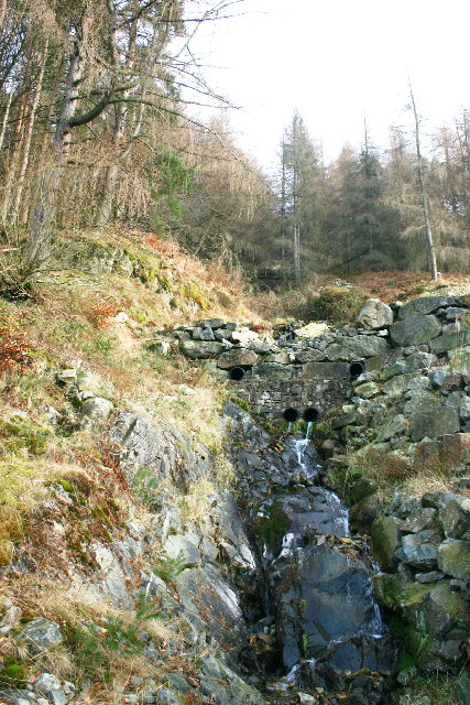 Beck above Thirlmere
