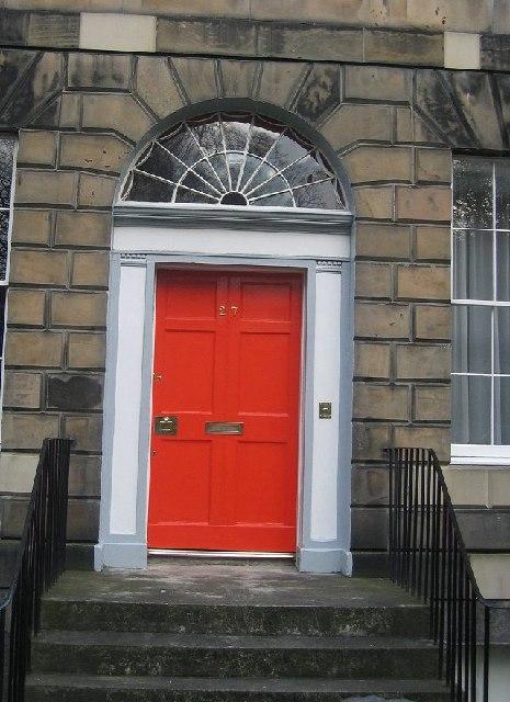Door, Gayfield Square.