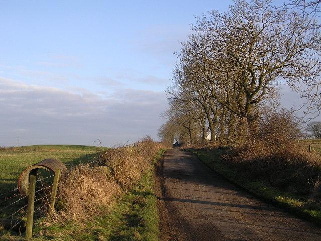 Quiet road, Back o' Hill