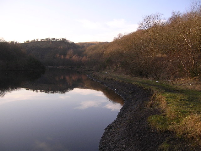 Small loch near Barraston Farm