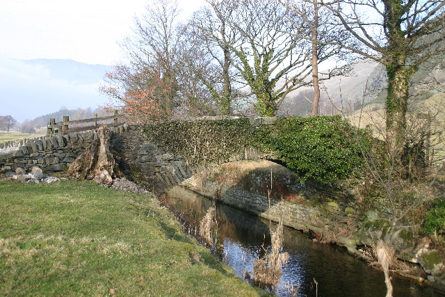 Packhorse Bridge St John's in the Vale