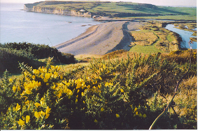 Cuckmere Haven from Cliff End