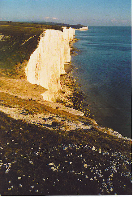 The Seven Sisters from Cliff End.