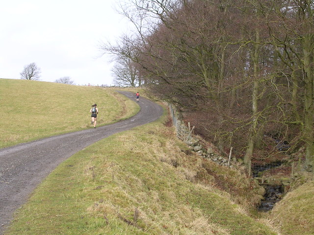 Track alongside Holl Burn