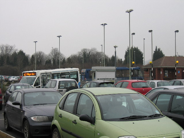 Waterwells Park & Ride Quedgeley Gloucester
