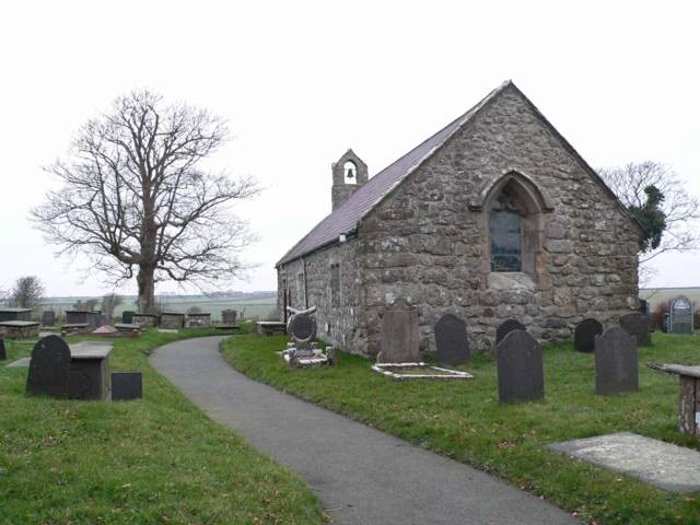 St. Gaian's Church, Tregaian, Anglesey.